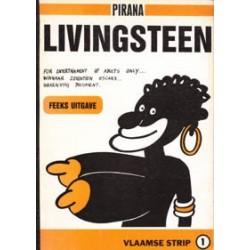 Pirana Livingsteen 1e druk 1982