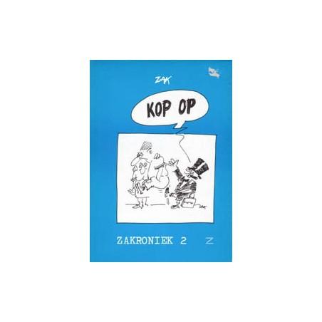 Zak Zakroniek 02 Kop op 1e druk 1986