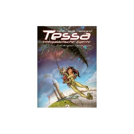 Tessa Intergalactische agente 02 De tien platen v/h labyrint