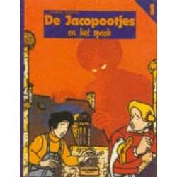Jacopootjes setje SC<br>Deel 1 t/m 3<br>1e drukken 1981-1982