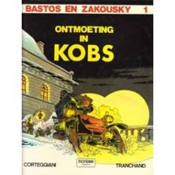 Bastos & Azkousky 01 HC Ontmoeting in Kobs 1e druk 1981