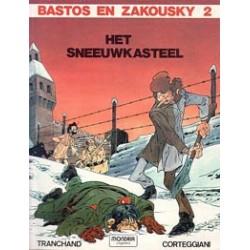 Bastos & Azkousky 02 HC Het Sneeuwkasteel 1e druk 1982