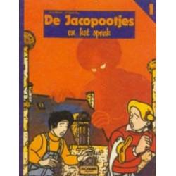 Jacopootjes 01 HC en het Spook 1e druk 1981