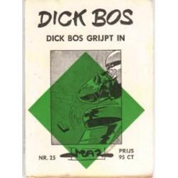Dick Bos M25<br>Dick Bos grijpt in<br>herdruk 1963