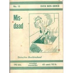 Dick Bos N13 Misdaad herdruk 191961