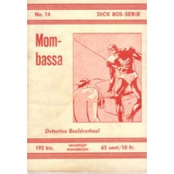 Dick Bos N14 Mombassa herdruk 1961