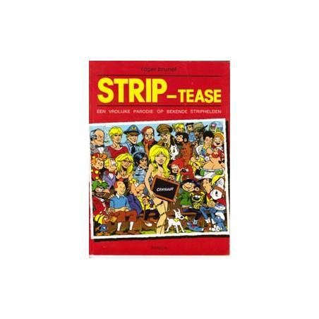 Striptease 01 SC Vrolijke parodie op bekende striphelden