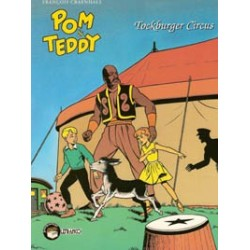 Pom & Teddy SC<br>Tockburger Circus<br>herdruk 1996