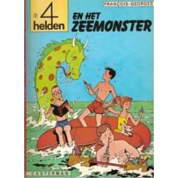 Vier (4) helden 01<br>Het zeemonster<br>herdruk