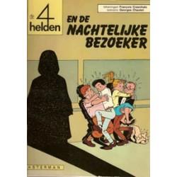 Vier (4) helden 04<br>De nachtelijke bezoeker<br>herdruk