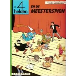 Vier (4) helden 06<br>De meesterspion<br>herdruk