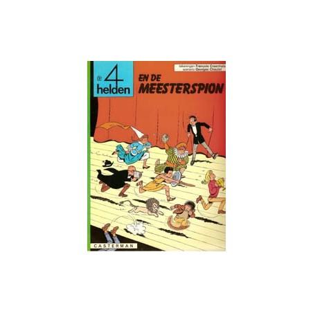 Vier (4) helden 06 De meesterspion herdruk