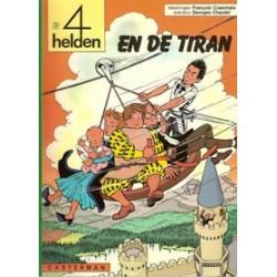 Vier (4) helden 08<br>De tiran<br>herdruk