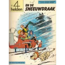 Vier (4) helden 09<br>De sneeuwdraak<br>herdruk