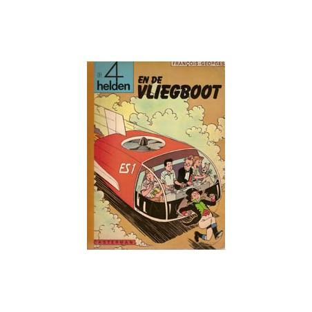Vier (4) helden 02 De vliegboot 1e druk 1968