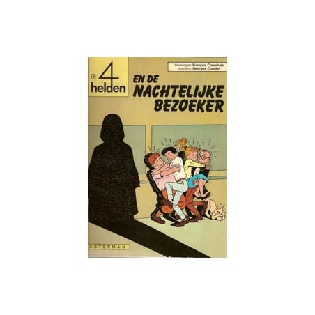 Vier (4) helden 04 De nachtelijke bezoeker 1e druk 1968