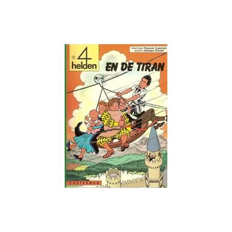 Vier (4) helden 08<br>De tiran<br>1e druk 1976