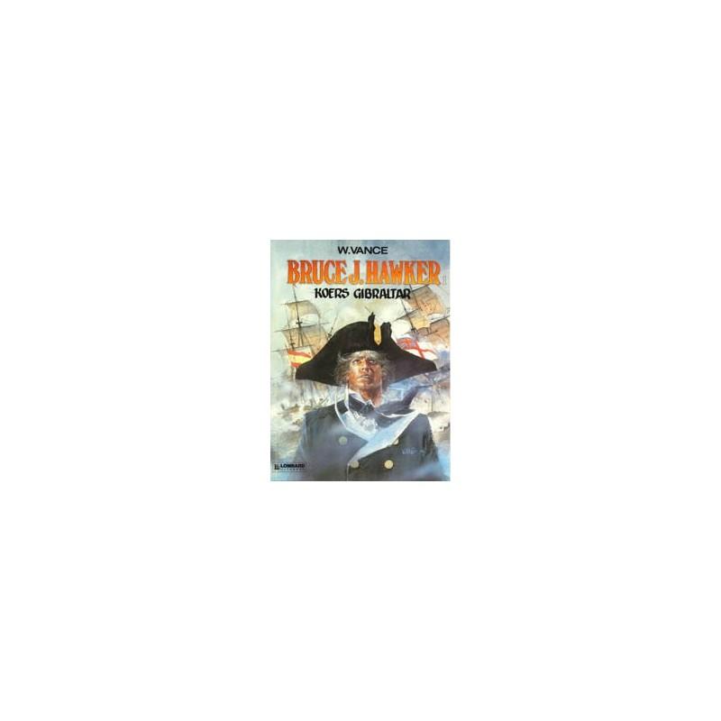 Bruce J. Hawker  set Deel 1 t/m 7 1e drukken 1985-1996