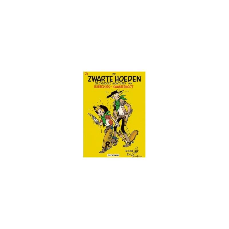 Robbedoes 03 SC - De zwarte hoeden 1e druk SC 1966
