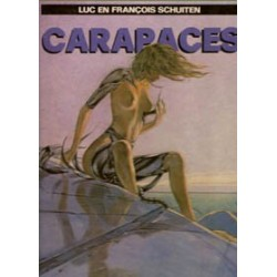 Holle aarde 01 HC<br>Carapaces<br>2e herziene druk 1988<br>Luxe