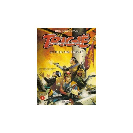 Trigie A01 SC Strijd om Trigië herdruk 1992