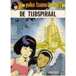 Yoko Tsuno<br>11 - De tijdspiraal<br>herdruk