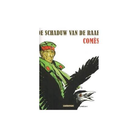 Comes strips De schaduw van de raaf herdruk zwart-wit 2012