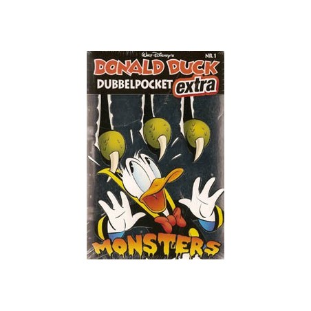 Donald Duck  Dubbel pocket extra 01 Monsters