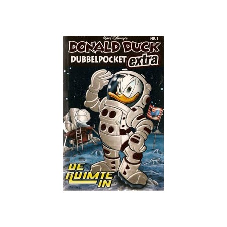 Donald Duck  Dubbel pocket extra 03 De ruimte in
