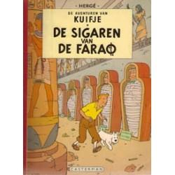 Kuifje<br>linnen rug SC Sigaren v/d Farao<br>1e druk [A 1961 ' ]