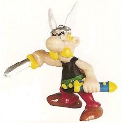 Asterix poppetjes<br>Asterix trekt zijn zwaard
