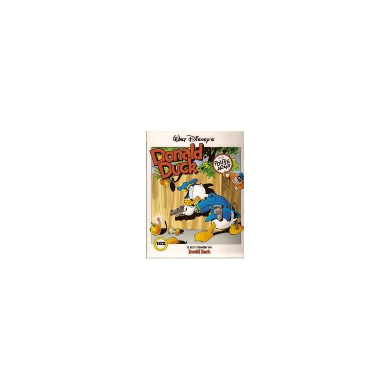 Donald Duck beste verhalen 102 Als politieagent 1e druk