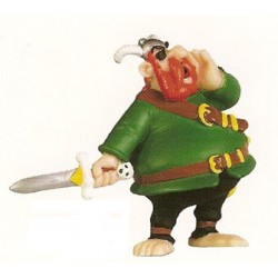 Asterix poppetjes<br>Roodbaard de piraat