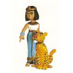 Asterix poppetjes<br>Cleopatra de egyptisch koningin