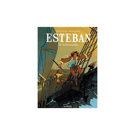Esteban set deel 1 t/m 5 1e drukken 2012-2015