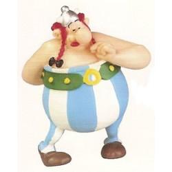 Asterix poppetjes<br>Obelix is verliefd