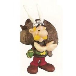 Asterix poppetjes<br>Asterix met everzwijn