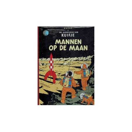 Kuifje  facsimile 16 HC Mannen op de maan