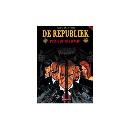 Republiek set deel 1 t/m 4 1e drukken 2007-2012