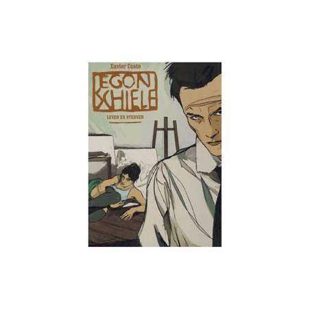 Coste strips Egon Schiele HC Leven en sterven