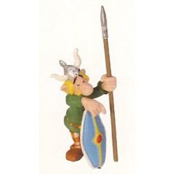 Asterix poppetjes<br>Slapende gallische schildwacht