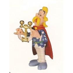 Asterix poppetjes<br>Assurancetourix de bard