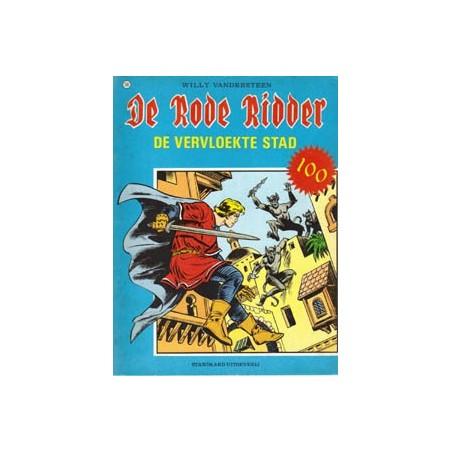 Rode Ridder Zwart-wit 100 De vervloekte stad + spel/poster