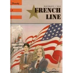 Frenchy setje HC deel 1 t/m 3 1e druk 1989-1991