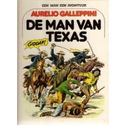 Een man een avontuur 05 HC De man van Texas 1e druk 1979