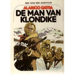 Een man een avontuur 06 SC<br>De man van Klondike<br>1e druk