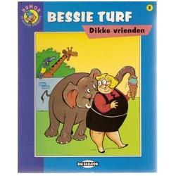 Bessie Turf SP Dikke vrienden 1e druk 1994 Blauwe strip