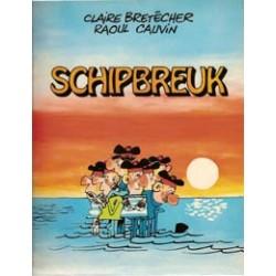 Bretecher Schipbreuk 1e druk 1980