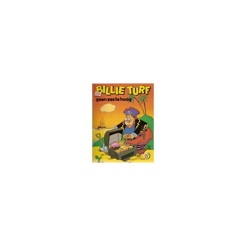 Billie Turf 27 Geen zee te hoog 1e druk 1983
