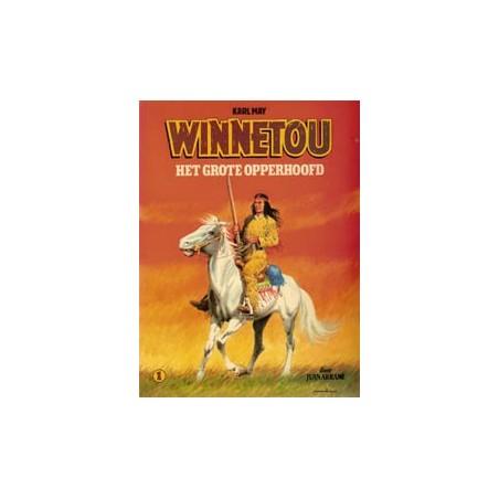 Winnetou 01 Het grote opperhoofd herdruk 1981